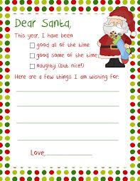 Letter To Santa  Christmas    Santa Empty And Envelopes