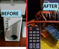 Install Infrared Remote Control in  Amplifier (Home Cinema)