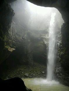 Popocatl cave in the Sierra de Zongolica, Veracruz, Mexico