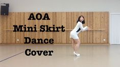 AOA's Mini Skirt dance cover by twoYA's  Sandra