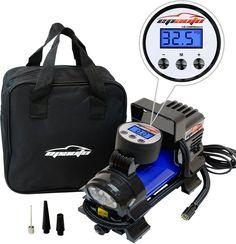 EPAuto 12V 120W Portable Air Compressor Pump, Digital Tire Inflator by 100 PSI