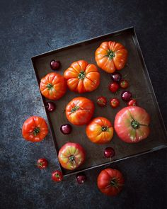 La recette du gaspacho tomates et cerises sera bientôt en ligne... Très bon week-end IG