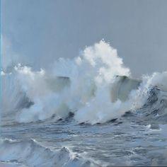 Artist: Richard Johnson Title: Out of the Mist Medium: Original Oil Size: 48 x 48