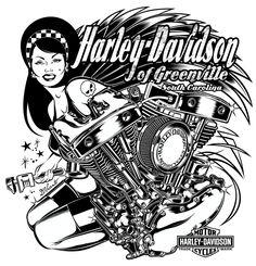 Design for Harley-Davidson - US by DAVID VICENTE, via Behance