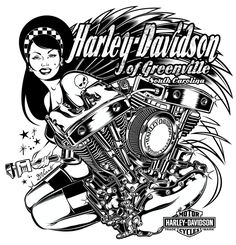 Design for Harley-Davidson - US by DAVID VICENTE, via Behance