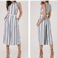 Jumpsuits, Rompers, Summer Dresses, My Style, Outfits, Fashion, Dresses, Patrones, Overalls