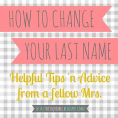 this is the best and most legit list I've seen yet! HOW TO CHANGE YOUR NAME