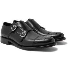 O'Keeffe - Bristol Weatherproof Leather Monk-Strap Shoes