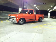 70 C-10 Stepside with a Chevy Small Block 400 and a 700r4 transmission
