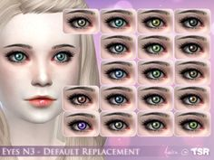 .Aveira.'s Eyes N3 - Default replacement