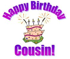 Photos commented on by Happy birthday cousin | Family Cousin Happy Birthday Comments