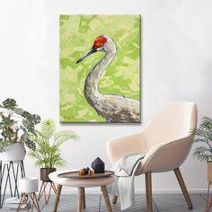 Ready2HangArt 'Sandhill Crane' by Sarah LaPierre Canvas Art