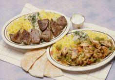 Sheesh Ta Ouk (lower right) from Jerusalem Restaurant in Denver