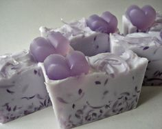 Love Spell Scented Shea Butter and Glycerin Soap