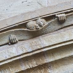 Basilique Sainte Foy, Conques, Aveyron, France, begun in 1050. Photo by Dennis Aubrey