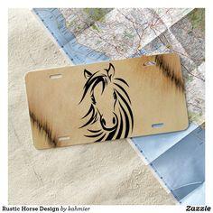 Rustic Horse Design