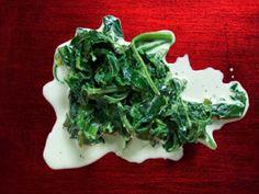 Gräddstuvad spenat Spinach, Cabbage, Vegetarian, Vegetables, Food, Veggies, Essen, Cabbages, Vegetable Recipes