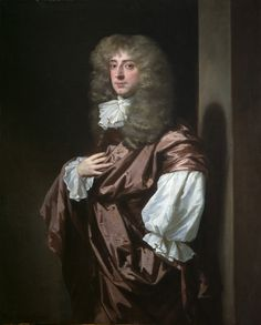 """""""Portrait of Sir Thomas Thynne, later 1st Viscount Weymouth"""" by Peter Lely (1675) at the Courtauld Gallery, London"""
