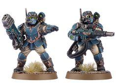 Tempestus Scions / Command Squad