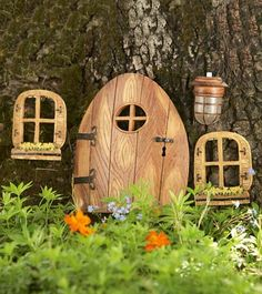 Fairy House in a tree!  Just put it in your favorite tree!
