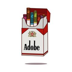 All the cool kids are doing it nowadays  .  .  .  #addiction #cigarette #smoking #illustration #vector #supplyanddesign #thedesigntip #vaniladesign #logonew #logoroom #creativesnack #graphicdesigncentral  #madethis #simple #simplycooldesign #getter #owsla #edm #electronicmusic #illustate #gfxmob #design #designer #inspiration #designspiration #type #typematters #typespire