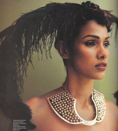 Unusual Futuristic tribal necklace in silver by Suhani Pittie