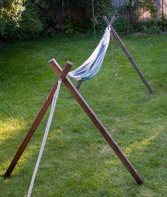 Multiple hammock stands