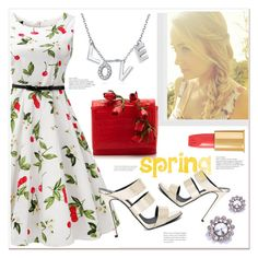 """""""Spring:)"""" by mycherryblossom ❤ liked on Polyvore featuring Lauren Conrad, Tom Ford, Giuseppe Zanotti, Nancy Gonzalez and vintage"""