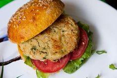 Hambúrguer de grão de bico vegano - Panelinha Saudável – Receitas cheias de saúde e zero lactose