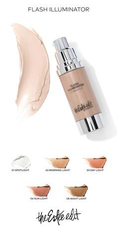 A complexion hybrid that pairs hydrating skincare ingredients with instant illumination. Wear it alone to highlight, strobe, blush, or shade, and blend it with your foundation for a super sexy, all-over glow. For a radiant look from head to toe, mix with your body lotion and apply all over.