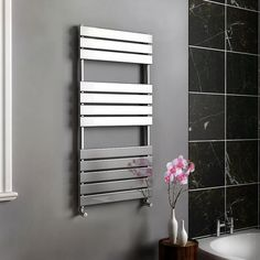 Venice Flat Panel 1200 x 600 Towel Radiator (PT-RF1200600)