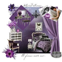 extraordinary hollywood glam purple bedroom | 50 Best Old Hollywood Glamour images | Old hollywood ...