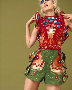 Veronika Vilim Is Lensed By David Ferrua For Vogue Ukraine August 2016