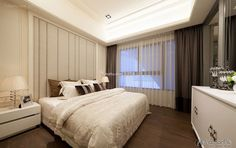 Exquisite modern minimalist bedroom design 2015