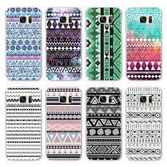 Modern Geometric Design Pattern Case for Samsung Galaxy J5 S4 S5 Mini S6 S7 Edge A3 A5 J510 J7 J710 G530 Case
