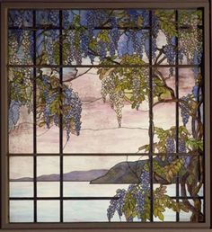 wisteria .. Louis Comfort Tiffany Stained Glass | TiffanyStained Glass