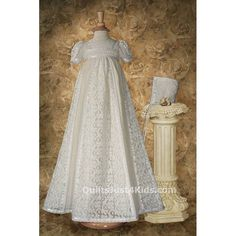 Christening Gown Ivory Victorian Lace-one of my favorites!