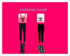 """""""awesome sause"""" by alygoolsby on Polyvore featuring Veronica Beard, Burberry, Tom Ford and Warehouse"""