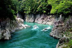 Dorokyo Gorge Jet Boat Tour, Kumanogawa/ Koguchi, Kitayama