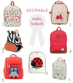 Back to School! The Cutest Toddler Girl Backpacks | Prepping, Girl ...