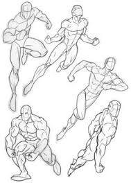 Resultado de imagen para anatomia de superheroes