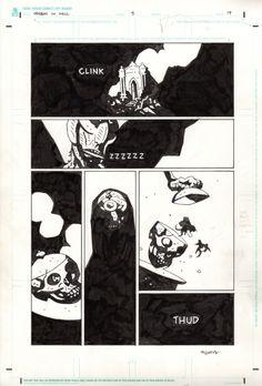 Hellboy in Hell #5 pg. 19 - Mike Mignola Comic Art
