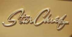 """Chromeography - """"1950s"""" - photos of emblems, badges, logos on cars & other objects"""
