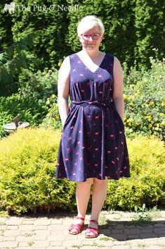 Papercut Sway Dress — The Pug & Needle