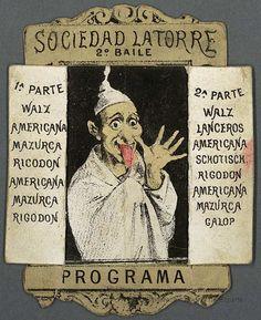 [Programas]. Grabado — 1870-1940
