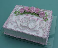 simple but fantastic cake Easy Cake Decorating, Cake Decorating Techniques, Deco Cupcake, Cupcake Cakes, Pretty Cakes, Beautiful Cakes, Sheet Cake Designs, Slab Cake, Cupcakes Decorados