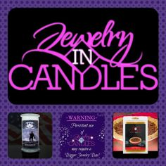 Our candles are made out of 100% soy an they burn 1000 to 15000 hours. website https://www.jewelryincandles.com/store/vickie-candles