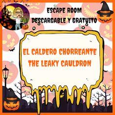 Adventures in class: Escape Room especial Halloween Hallowen Party, Halloween Kids, Escape Room, English Day, Breakout Edu, Grammar Quiz, Education World, Teacher Binder, English Lessons