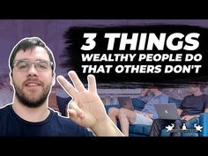 I've been studying wealth and success for the past 10 years, and this is what I've discovered and used in my own life to change my life in big ways. Wealthy People, Change My Life, The Past, Success, Youtube, Youtubers, Youtube Movies