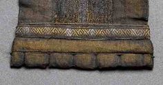 маммен дания: Detail of tablet-woven armband decoration from Mammen grave (National Museu. Viking Garb, Viking Reenactment, Viking Dress, Vikings Time, Norse Vikings, Lucet, Textiles, Tablet Weaving Patterns, Viking Clothing